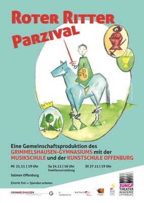 Roter Ritter Parzival Flyer