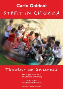 Streit in Chiozza - Plakat