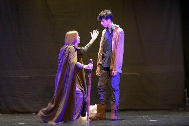 Eumaios erkennt Odysseus wieder